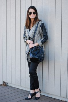 """""""Mad Style"""" // #fallstyle // #falltrends // #cardigan // #chicago // #blogger // #madstyle"""