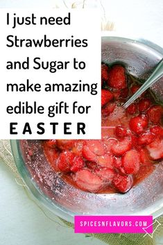 Just 3 ingredients is all you need to make this simple small batch Instant Pot Strawberry Jam without pectin or cornstarch. Not an old fashioned jam recipe videos but this thick homemade strawberry ja Lunch Box Recipes, Jam Recipes, Holiday Recipes, Dessert Recipes, Desserts, Easy Jam Recipe, Christmas Jam, Homemade Strawberry Jam, Edible Arrangements