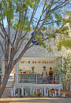 Moon Juice Market by Stephen Vitalich Architects, Venice   California store design