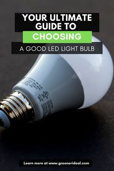 If you're committed to going green in your home or business, it's about time to try an LED for yourself. But now that there are so many LEDs on the market, how do you know which one to choose? Don't worry check out our Ultimate Guide To Choosing A Good LED Light Bulb, Now! #LED #LedLight #Light #LightBulb #energy #EnergyEficient #SaveEnergy #EcoFriendly #HowTo #Green #GoGreen Solar Panel Cost, Solar Panels, Alternative Energy Sources, Solar Panel Installation, Solar Water, Solar Energy System, Sustainable Energy, Eco Friendly House, Save Energy