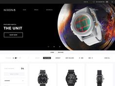 At BASIC as part of my time on the Nixon redesign last year, I worked on the interactions on the product category pages.  Getting the interactions to work took a lot of collaboration with Nixon's i...