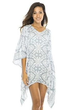 Short Poncho Primitive Grey -- Find out more about the great product at the image link.