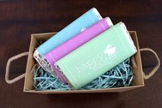 Printable Easter Candy Bar Wrappers - Todays Creative Blog