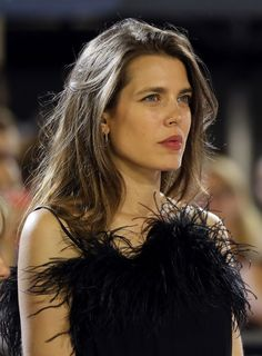 Charlotte Casiraghi arrives for the podium ceremony of the 'Grand Prix Prince de Monaco' during the 2017 edition of the Jumping International of Monaco horse jumping competition as part of the Global Champions Tour on June 2017 in Monaco. Rihanna, Beyonce, Jessica Chastain, Alessandra Ambrosio, Charlotte Casiraghi Style, Cindy Crawford, Caroline Dhavernas, Charlotte Cardin, Marta Ortega