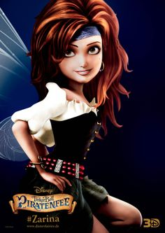 the pirate fairy movie posters photos | Tinkerbell-und-die-Piratenfee-Zarina