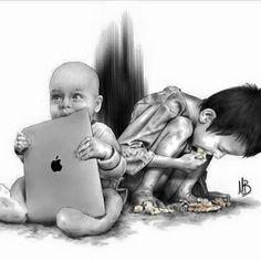 Малые сии...У каждого своя бедность.