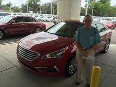 Roney Bunn had a good experience with Lakeland Hyundai and our salesman, Billy Atshan, and we're glad to hear it! Thank you for your business, Mr.Bunn! Enjoy your brand new 2016 Hyundai Sonata! If there's anything we can do, don't hesitate to ask… We're here to help! #LakelandAutomall #LakelandHyundai #HyundaiSonata #2016Sonata #Hyundai