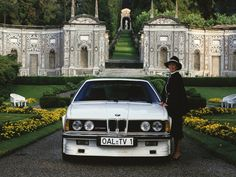 Today we're celebrating the with our BMW ALPINA Turbo Coupé in the gardens of Bmw E24, Bmw 6 Series, Bmw Alpina, Bmw Classic, E30, Taj Mahal, Automobile, Cool Designs, History