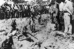 Soldados japoneses usaban civiles chinos para entrenarse con bayonetas | imagenpoblana