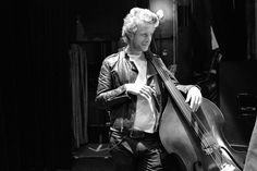 Ted Dwane of Mumford & Sons