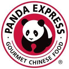 Panda Express Logo seen on every box of Panda Express Fried Rice