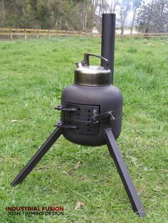 The Bottle Belly Rocket Heater, Rocket Stoves, Propane Stove, Pellet Stove, Metal Projects, Welding Projects, Welding Tools, Homemade Heater, Rocket Stove Design