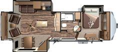 Roamer RF337RLS Floorplan