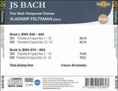 Vladimir Feltsman - Bach: The Well-Tempered Clavier