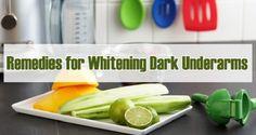 Top 3 Natural Remedies For Dark Underarm