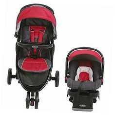 fastaction sport lx travel system chili red