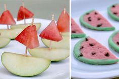 I love the idea of ending summer with a Watermelon Party! In the cute little town where we live, ...