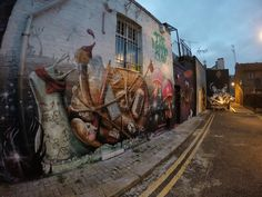 Nomad Clan Street Art Murals London Manchester and many more