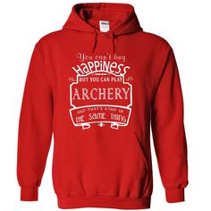 Click here: https://www.sunfrog.com/Funny/HAPPINESS-ARCHERY-6944-Red-6620760-Hoodie.html?7833 HAPPINESS ARCHERY