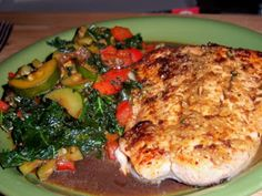 Healing Cuisine: Gingered Chicken or Salmon