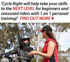 Learn To Ride | Cycle Right Motorcycle Training Academy | Q Ride | Motorbike Lessons Training Academy, Gym Training, Training Tips, T Is For Train, Xmas 2015, Christmas Train, Brisbane, Cycling, Motorcycle