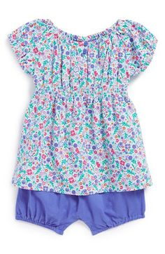 Tea Collection 'Mogador' Romper Dress (Baby Girls) available at #Nordstrom