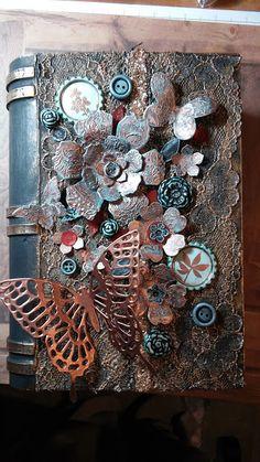 My Creative Side: Paper Mache Book Box