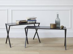 LAX Steel console table by more design Gil Coste