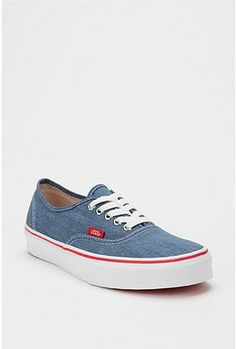Love these chambray VANs