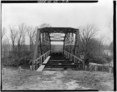 Parker Bridge, Spanning Verdigris River miles Southeast of Coffeyville, Coffeyville, Montgomery County, KS Coffeyville Kansas, Fall River, Montgomery County, Coal Mining, Close To My Heart, Brooklyn Bridge, Bricks, Places To See, Wander