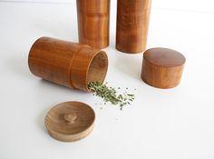 Ki No Sigoto Tea Containers. Handmade by Tatsuya Aida, Japan.