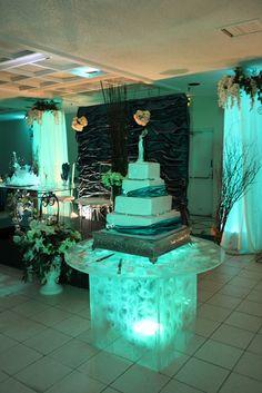 unconventional wedding cake tables - Google Search Cake Table, Dessert Table, Unconventional Wedding Cake, Wedding Cakes, Table Decorations, Tables, Google Search, Home Decor, Decorations