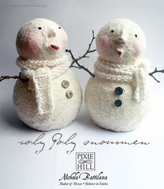 roly poly snowmen