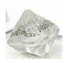 Fluorite Octaedro con Punto Chalcopyrite por FenderMinerals