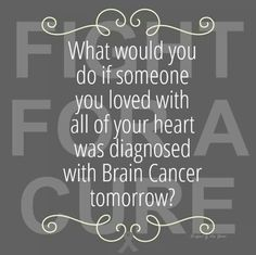 Brain Cancer Awareness - September My world changed. Childhood Cancer Awareness Month, Brain Cancer Awareness, I Hate Cancer, Brain Cancer Quotes, Brain Stem, Brain Tumor, 6 Years, Places, Quotes