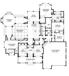 House Plans, Home Plans and floor plans from Ultimate Plans