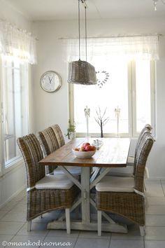 New kitchen ❤ Riviera Maison ❤ Kitchen ❤ Countryhome ❤ http://starbox.fi/omankodinonnea/uudistettu-ruokailutila