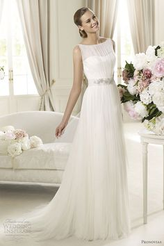 Pronovias Wedding Dresses 2013 — Preview Collection | Wedding Inspirasi