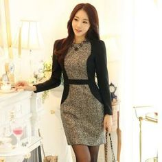 Buy 'Styleonme – Two-Tone Tweed Sheath Dress ' with Free International Shipping at YesStyle.com. Browse and shop for thousands of Asian fashion items from South Korea and more!