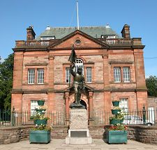 Victoria Halls & Flodden Memorial Selkirk