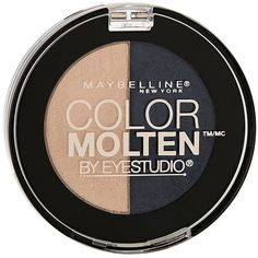 Maybelline Eyestudio Colour Molten Duos Midnight Morph Target... (145 EGP) ❤ liked on Polyvore featuring beauty products, makeup, eye makeup, eyeshadow, maybelline eye shadow, maybelline eyeshadow, maybelline, maybelline eye makeup and gel eyeshadow