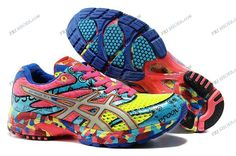 Asics Gel Noosa Tri 6 W Yellow/Pink/Blue Mens Running Shoes