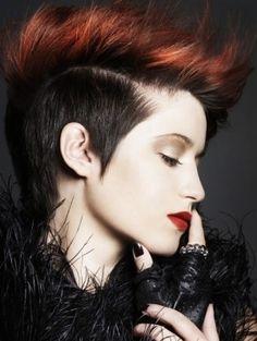 Modern Punk Short Hair Styles