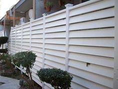 vinyl horizontal fence