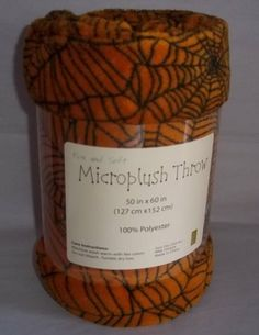 Halloween Spiderweb Microplush Throw Blanket 50 X 60 Inches Sun-Yin USA,http://www.amazon.com/dp/B00I79T38Q/ref=cm_sw_r_pi_dp_9BRbtb1F0KGTVFC5