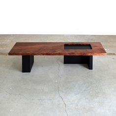 Anchor Coffee Table by Chadhaus; Seattle based handcrafted furniture.