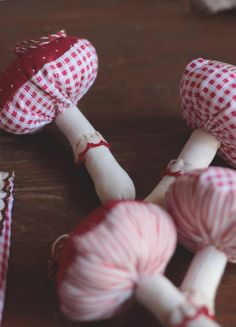 la maison boop!: ☁▵Petite Forêt▵☁ fabric mushroom