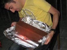 Homemade giant Kit Kat
