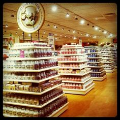 Yankee Candle Flagship Store. Deerfield,Mass. My brother took me there a few years ago...loved it :)