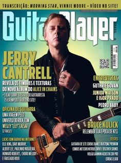 Jerry Cantrell - Guitar Player Brazil Magazine (August 2013)